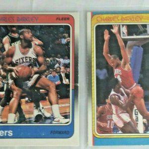 1988-89 Fleer Basketball #85 Charles Barkley 129 A